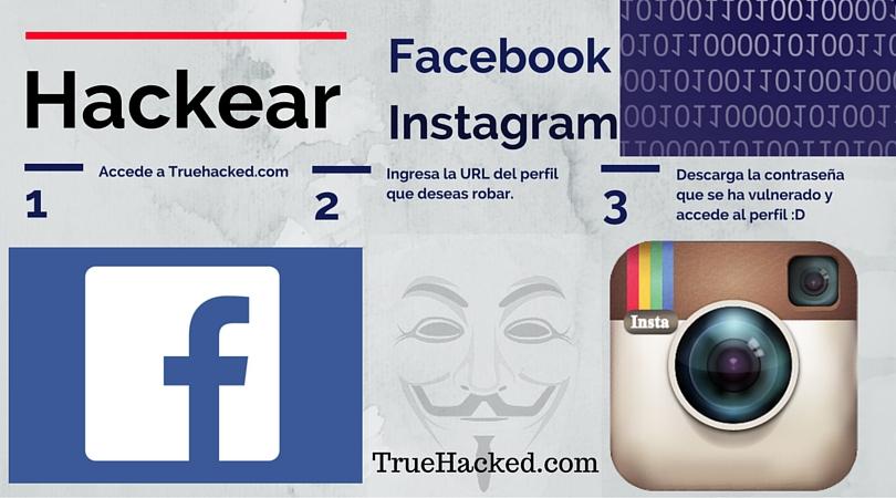 Programa para hackear facebook y Instagram
